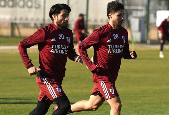 River Plate- entrenamientos