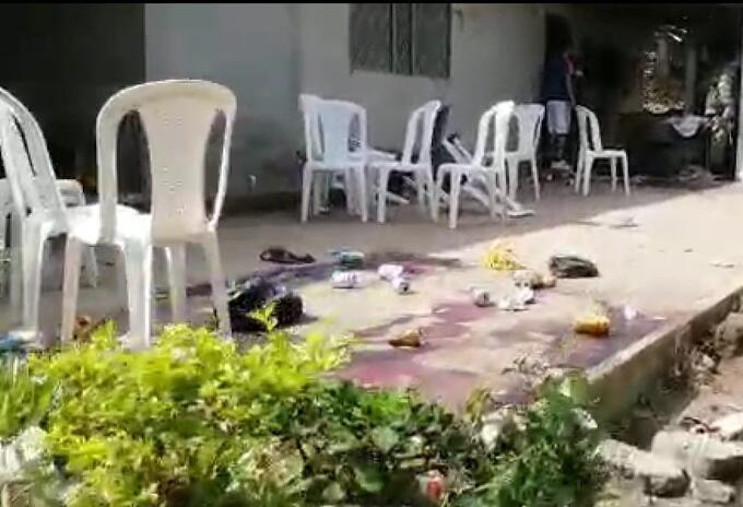 La casa escenario de la masacre en Nariño