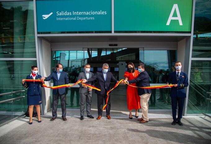 Inauguración Terminal de pasajeros de Pereira