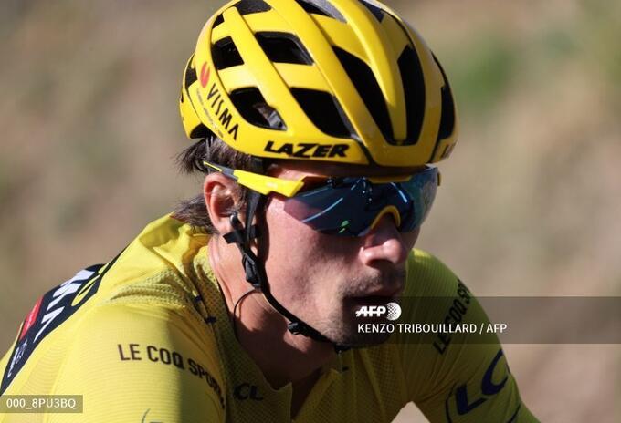Primoz Roglic, líder del Tour de Francia