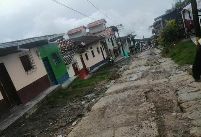 Referencia municipio de Argelia, Antioquia.