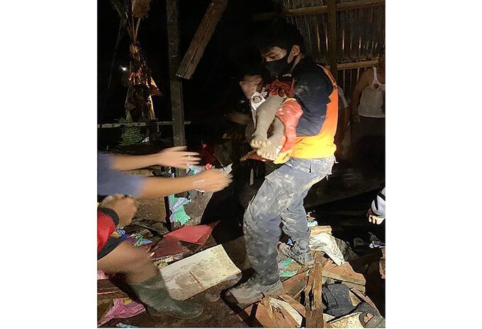 Deslizamiento de tierra en Indonesia