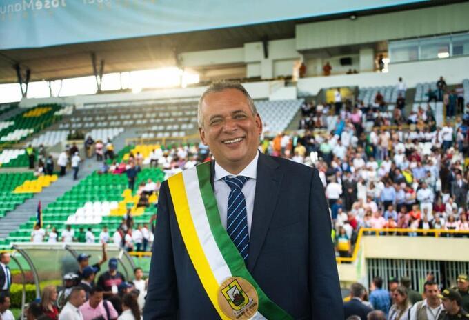 José Manuel Ríos Morale, alcalde de Armenia