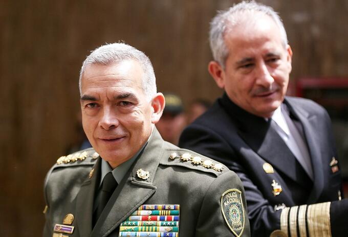 General Óscar Atehortúa, director de la Policía
