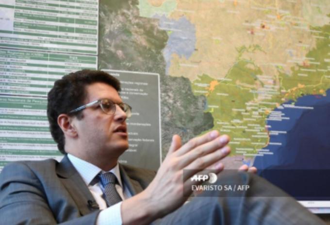 El ministro brasileño de Medio Ambiente, Ricardo Salles