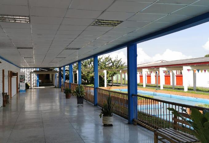 Centro de Aislamiento Regional para recolectores de café.