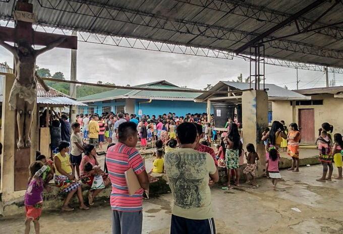 Comunidades desplazadas en Alto Baudó, Chocó