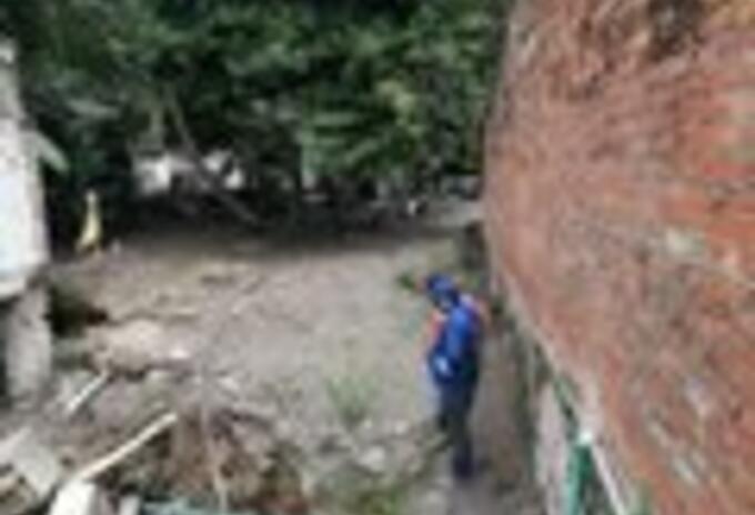 Emergencia en San Pablo de Borbur/LLuvias