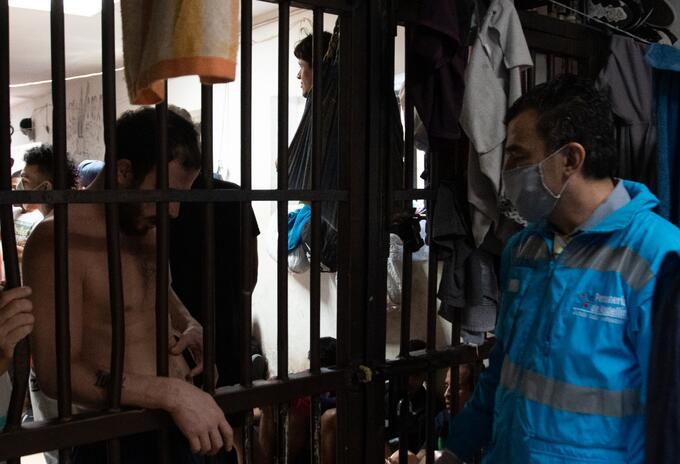 La Personería de Medellín tramitará jornadas de desinfección en las cárceles con las EPS.