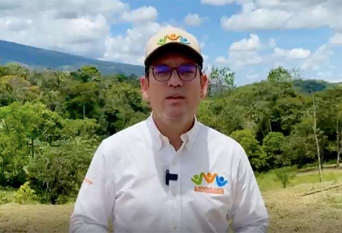 Juan Guillermo Zuluaga, gobernado del Meta