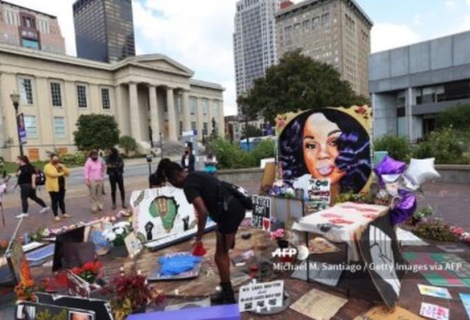 Louisville, Estados Unidos, homenaje a Breonna Taylor