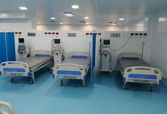 El nuevo pabellón UCI del hospital de San Andrés supera las 20 camas