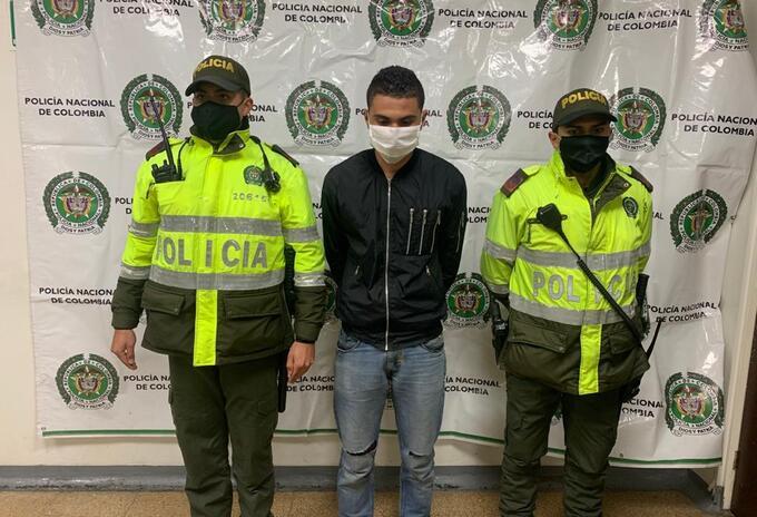 Presunto asesino de mujer en Barranquilla.
