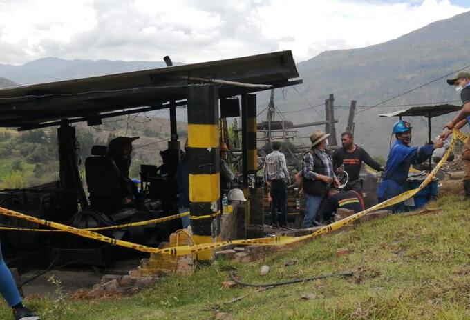Accidente, muertos, mina, Socha, Boyacá