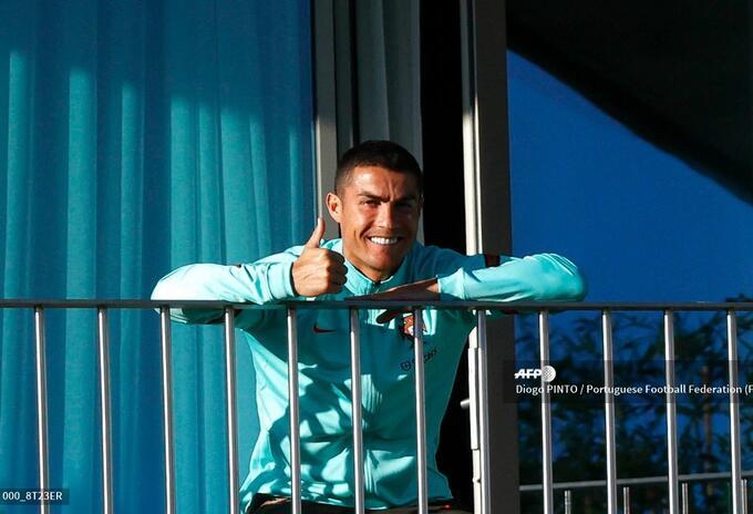 Cristiano Ronaldo con coronavirus