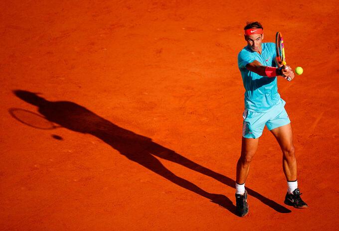 Rafael Nadal, a la final de Roland Garros