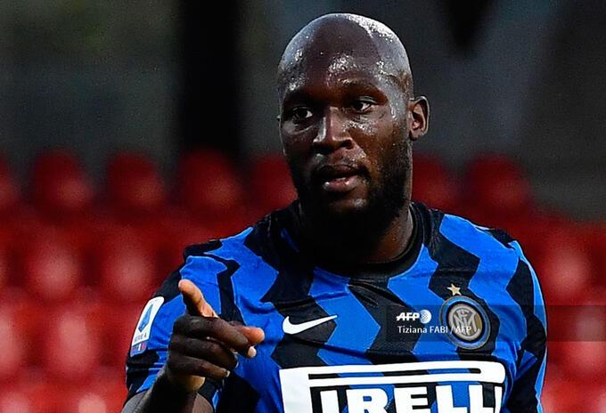 Romelu Lukaku, jugador del Inter