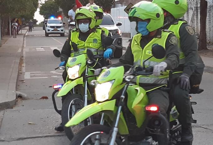 Operativos contra la criminalidad.