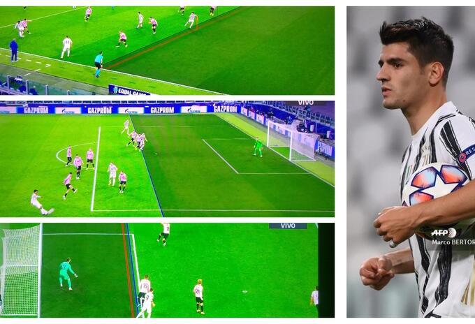 Álvaro Morata, goles anulados por VAR