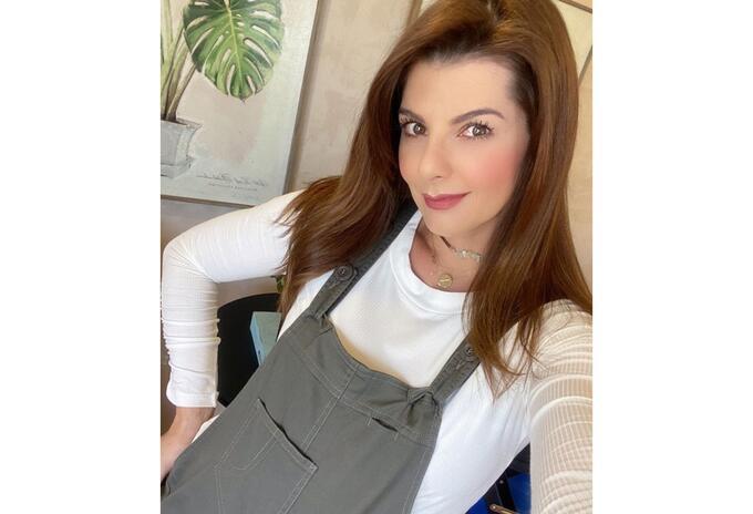 Carolina Cruz embarazada de su segundo hijo