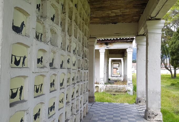 Galerías funerarias en Bogotá