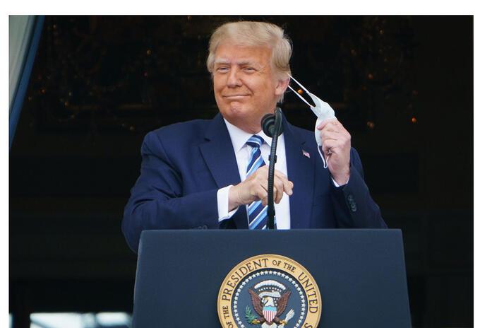 Donald Trump y el covid-19