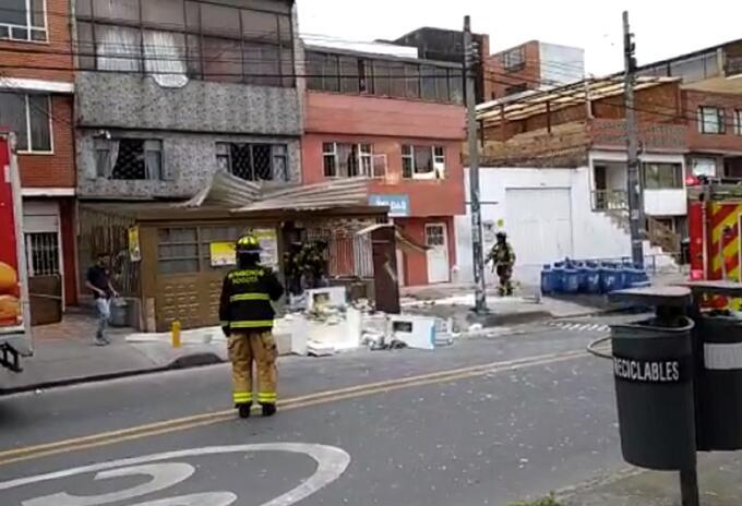 Explosión en Engativá