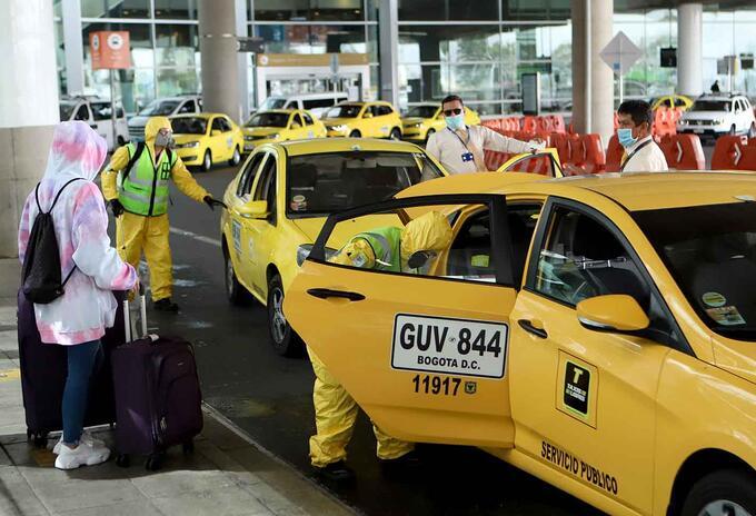 Protocolos en Aeropuerto El Dorado
