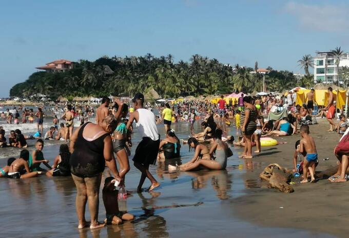 Playa Puerto Colombia