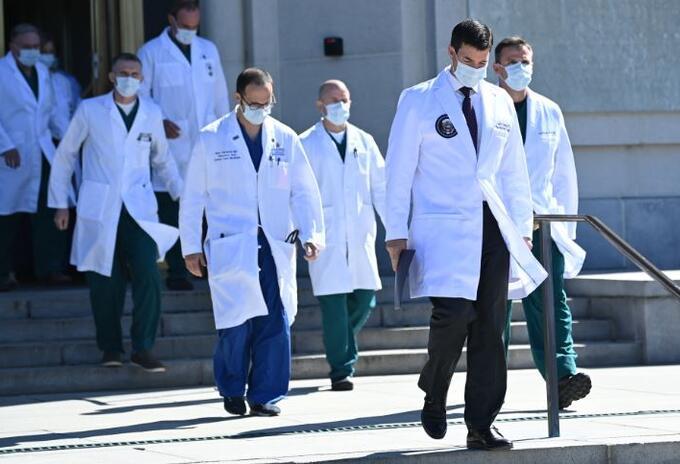 Médicos Donald Trump