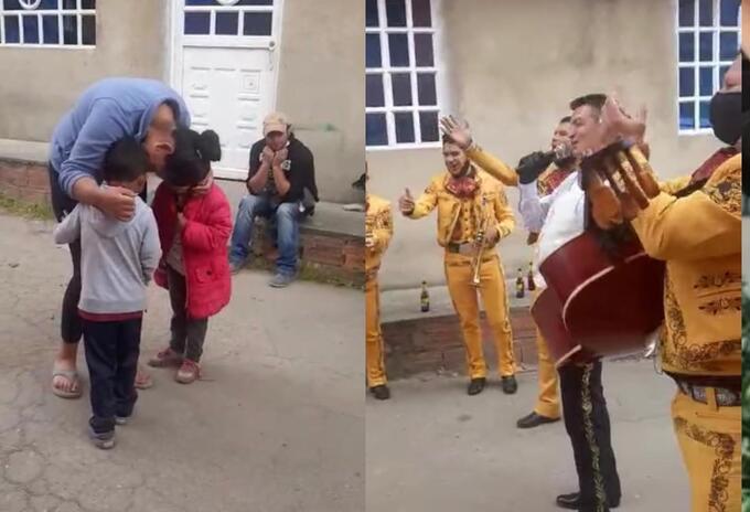 Niño de Bogotá consigue una serenata por mil pesos para su madre