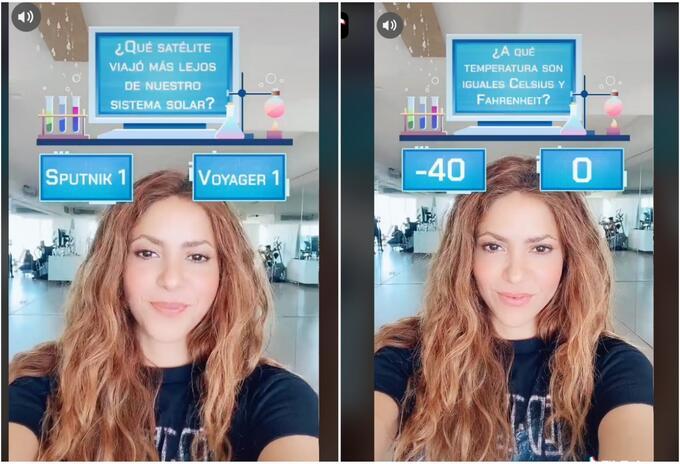 Shakira en TikTok