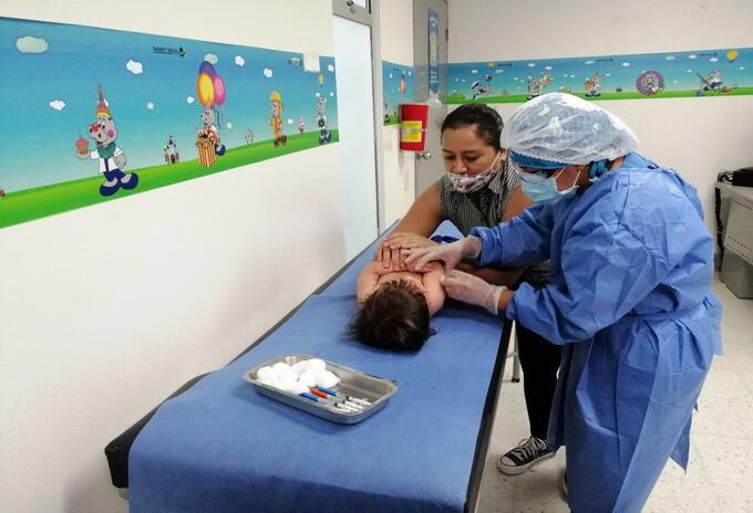 Vacunas niños Ibagué