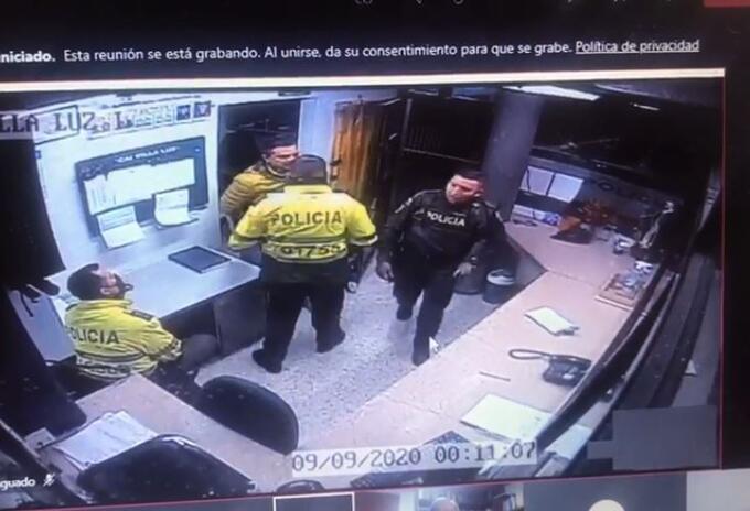 Video Cai Javier Ordóñez