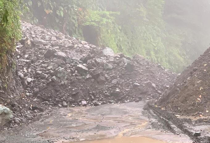 Deslizamiento vía Risaralda- Chocó