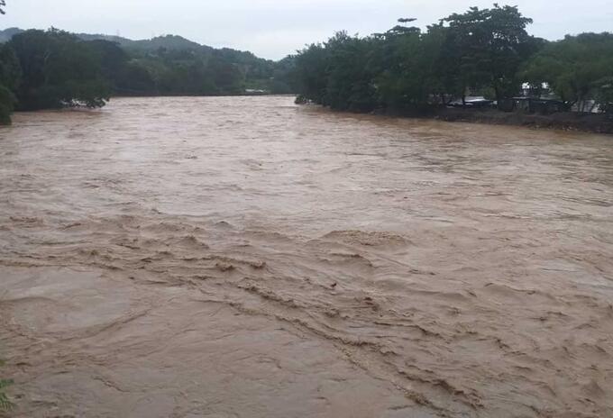Inundaciones en Tarazá, Antioquia.
