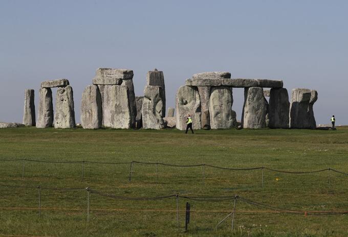 Stonehenge, mítico lugar de Inglaterra