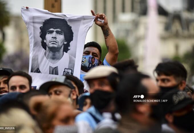 Velorio de Diego Maradona