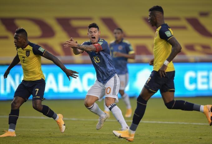 Ecuador vs Colombia, Eliminatorias Qatar 2022