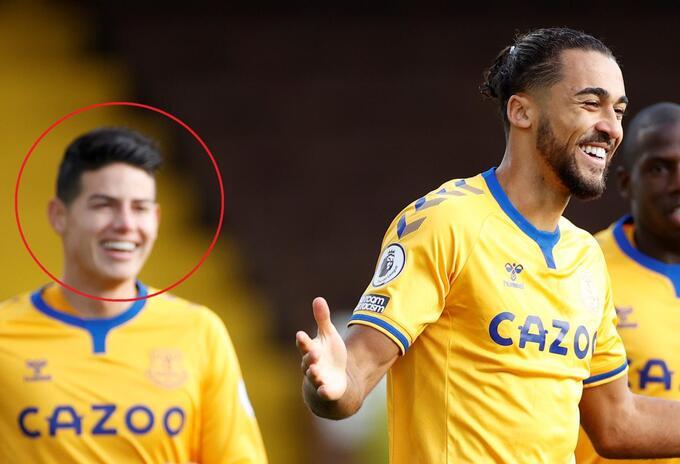 Everton y James