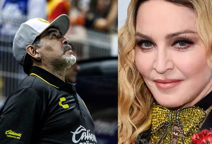 Maradona y Madonna