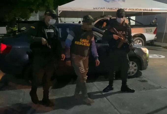 El hombre fue secuestrado bajo la modalidad de falso servicio.