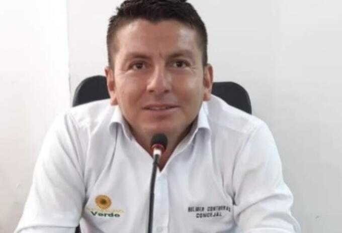 Concejal de Aguachica (Cesar) Elmer Contretas.