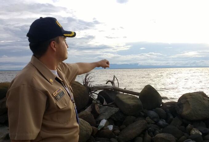 En el Golfo de Urabá se restringieron las actividades marítimas.