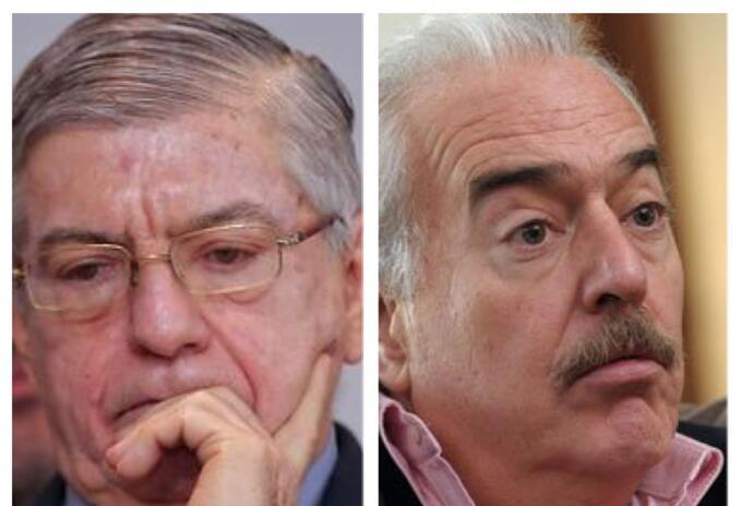 César Gaviria y Andrés Pastrana