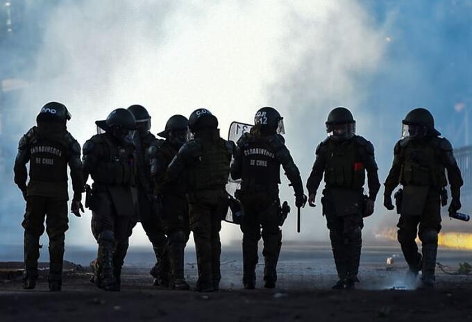 Policía carabineros de Chile