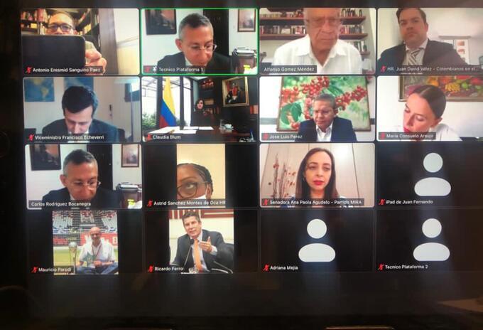 Reunión de la Comisión Asesora de Relaciones Exteriores