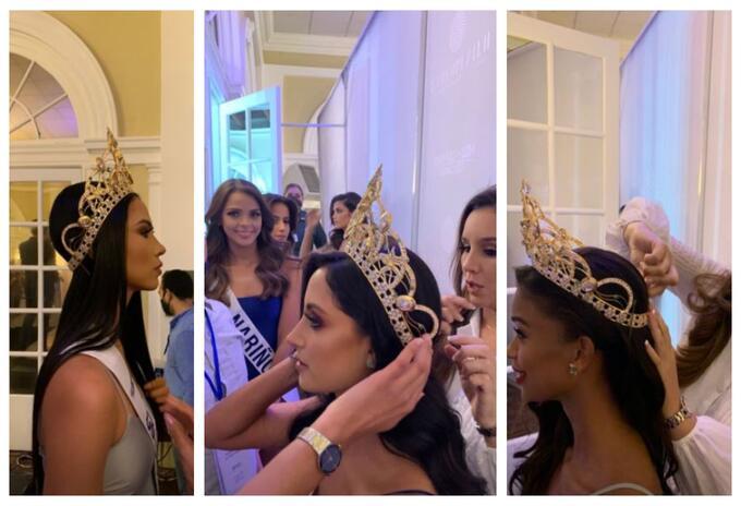 Prueba de corona - Miss Universe Colombia