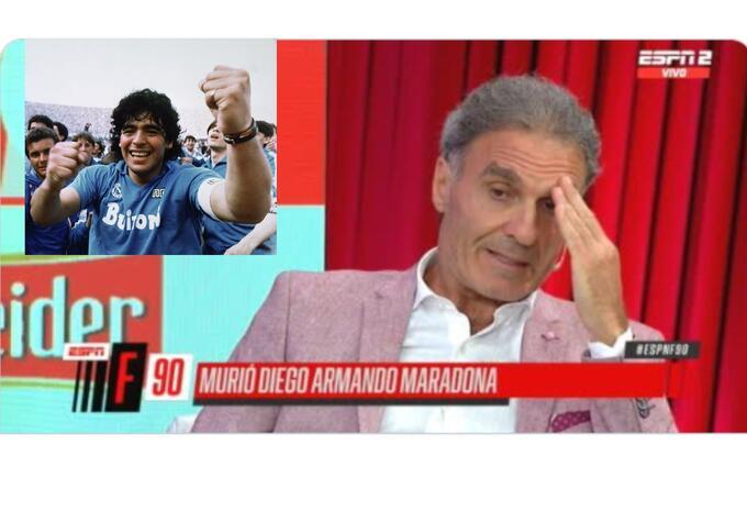 Oscar Ruggeri y su relación con Diego Maradona