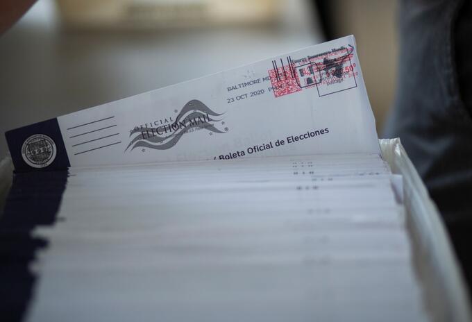 Voto anticipado en elecciones en Estados Unidos